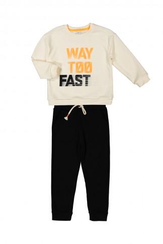 Way Too Fast Baskılı Takım 5-8 Yaş