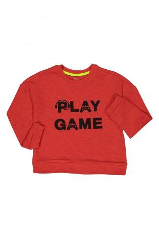 Play Game Baskılı Sweat 5-8 Yaş